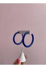 Enamel Hoop in Assorted Colors