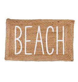 Jute Beach Door Mat