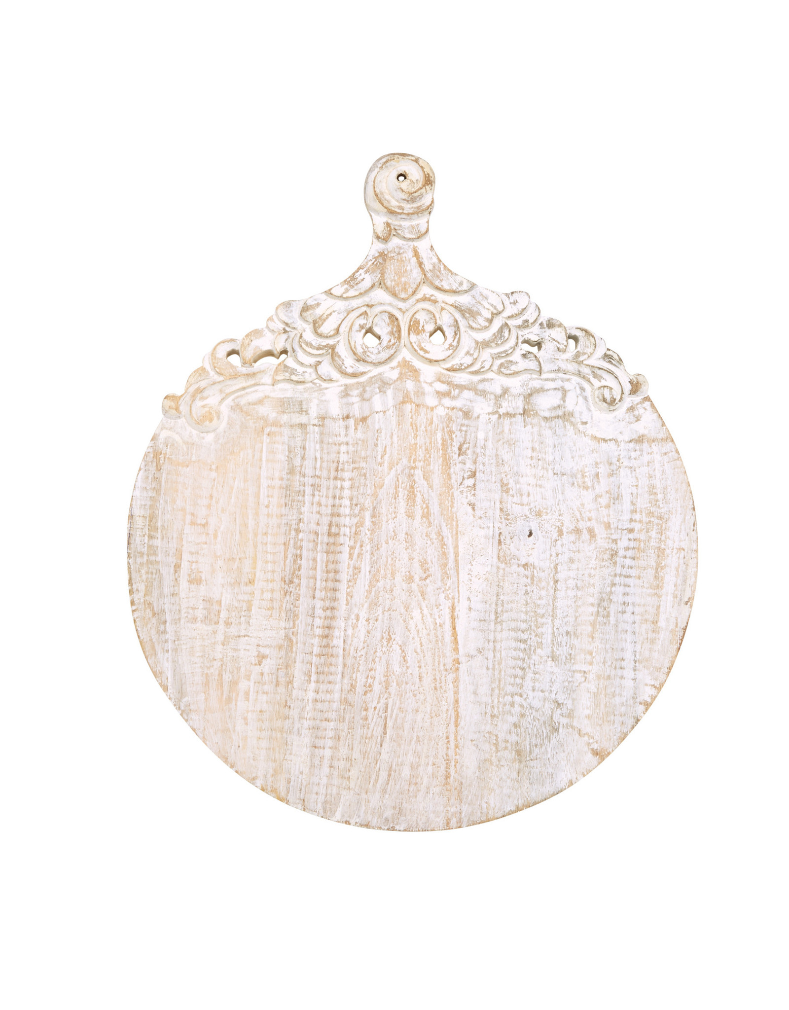 Circle Carved Wood Board