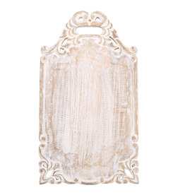 Rectangle Carved Wood Board