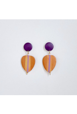 Elizabeth Crane Swartz Copper Drop Earring by Elizabeth Crane Swartz