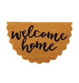 Welcome Home Scallop Door Mat