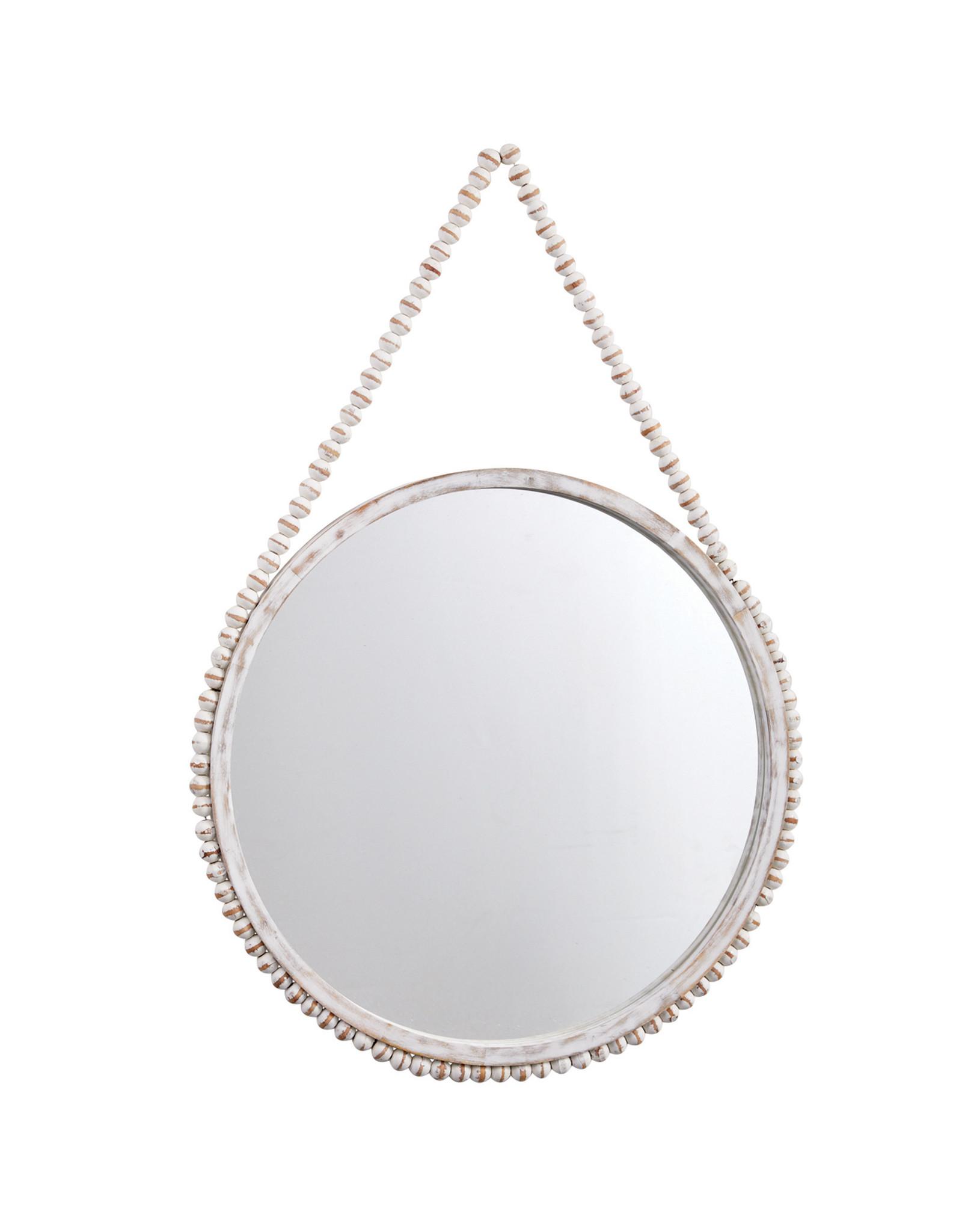 Beaded Mirror Large