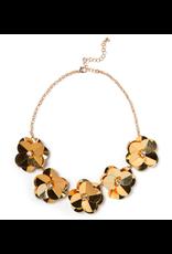 Camellia Necklace Gold