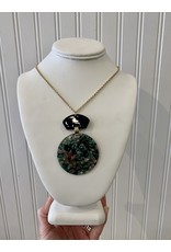 Malachite Oval Necklace