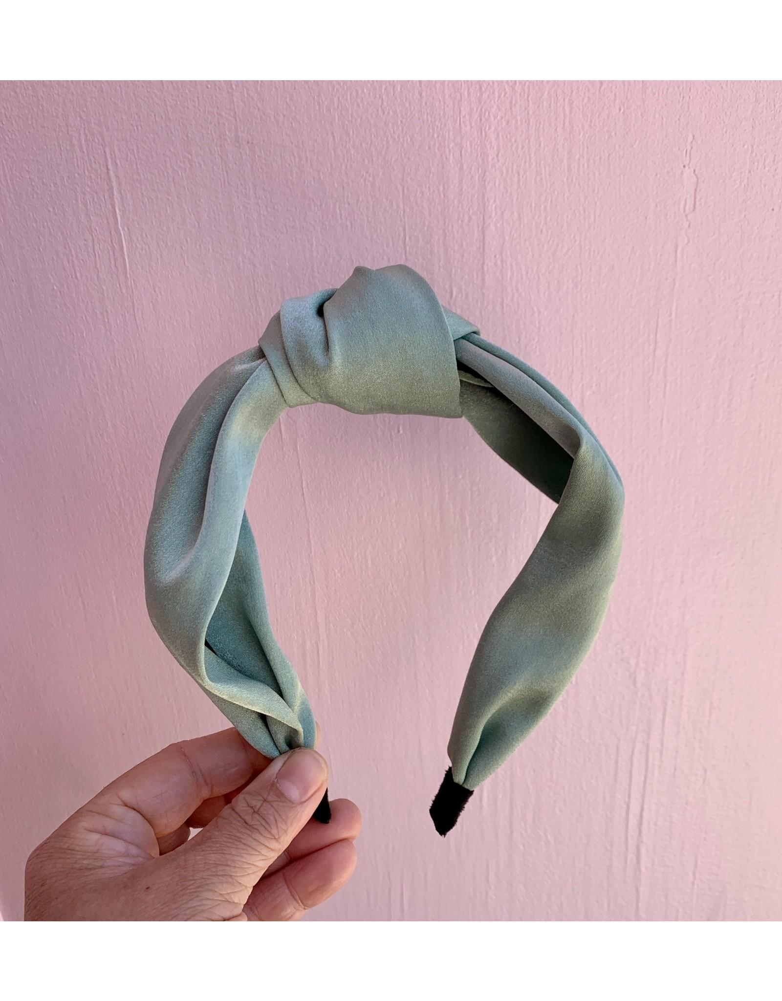 Headband with Knot Mint