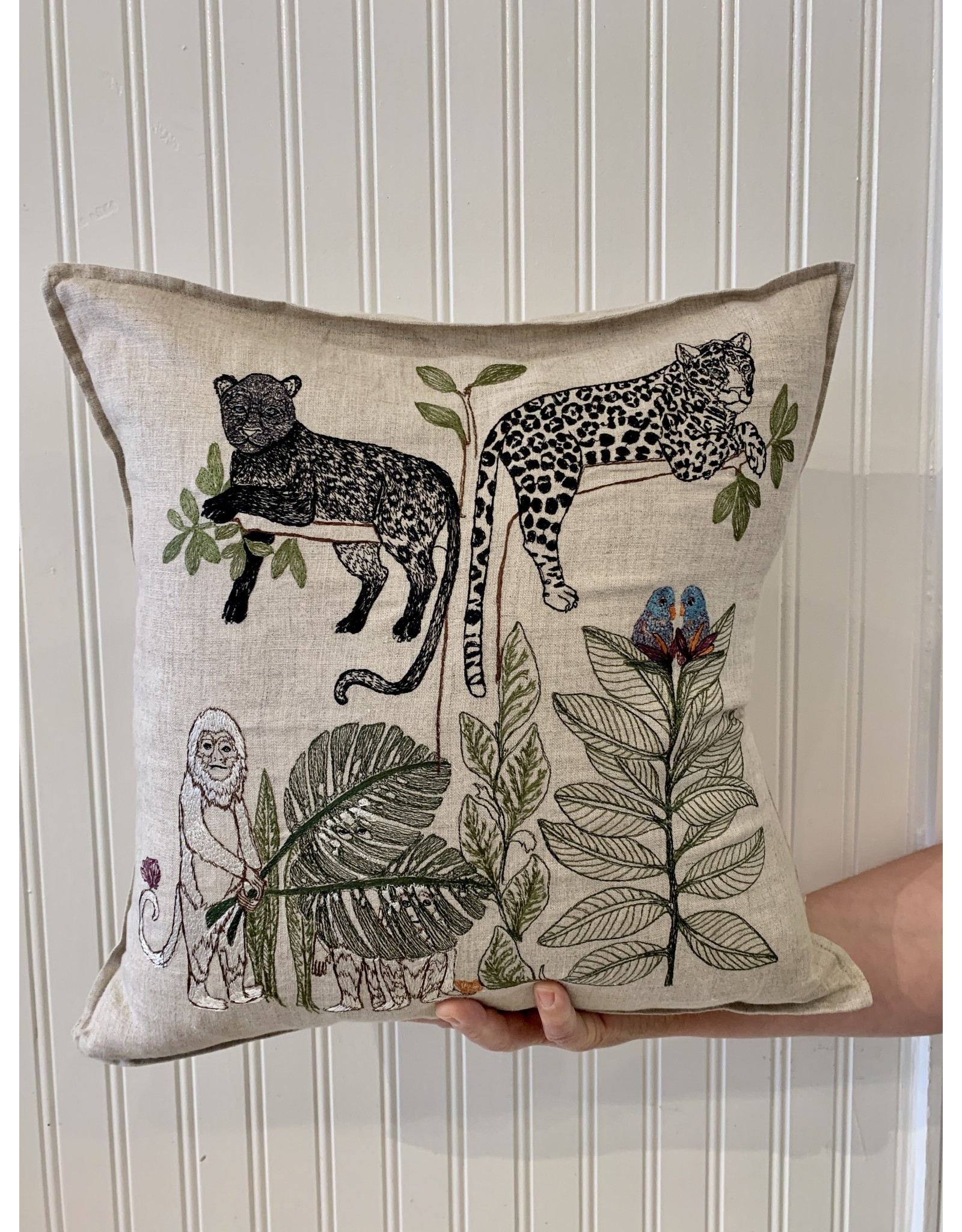 Coral & Tusk Jungle Living Tree 16x16 by Coral & Tusk