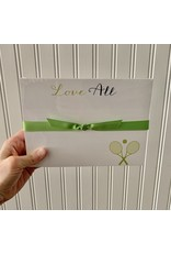 RoseanneBECK Collection Love All Tennis Notepad