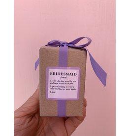 Ella B Bridesmaid Definition Candle