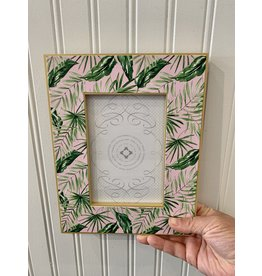 "RoseanneBECK Collection Handpainted Palms Frame 4"" x 6"""