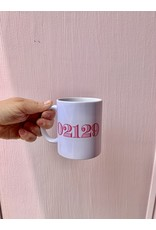 02129 Hot Pink Stripes Mug