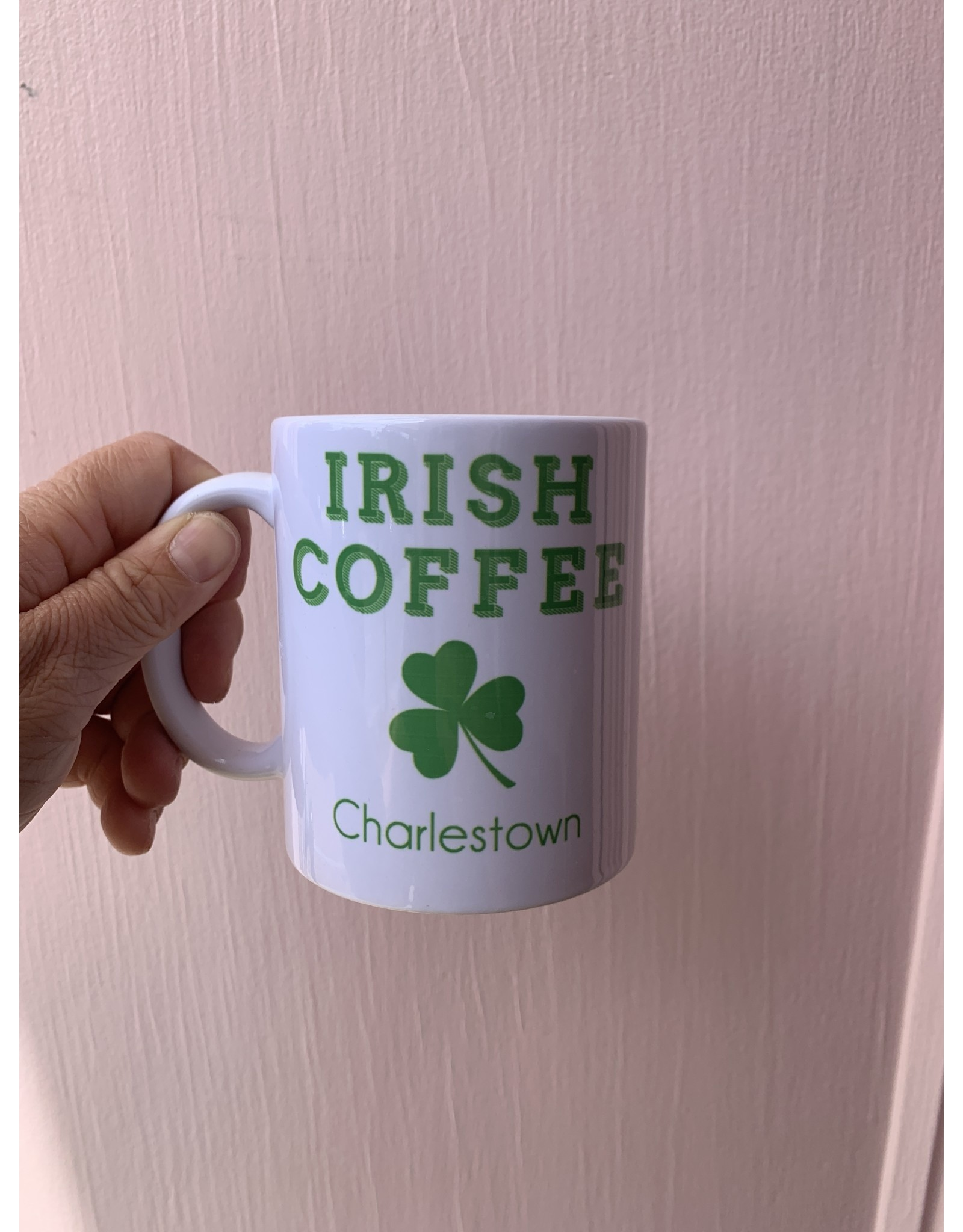 Shamrock Charlestown Irish Coffee Mug