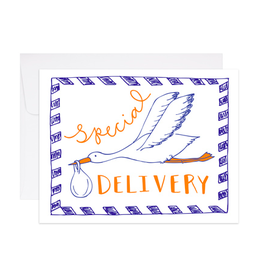 9th Letterpress Special Delivery Card