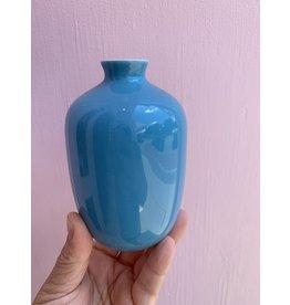 Mini Vase Plum Turquoise