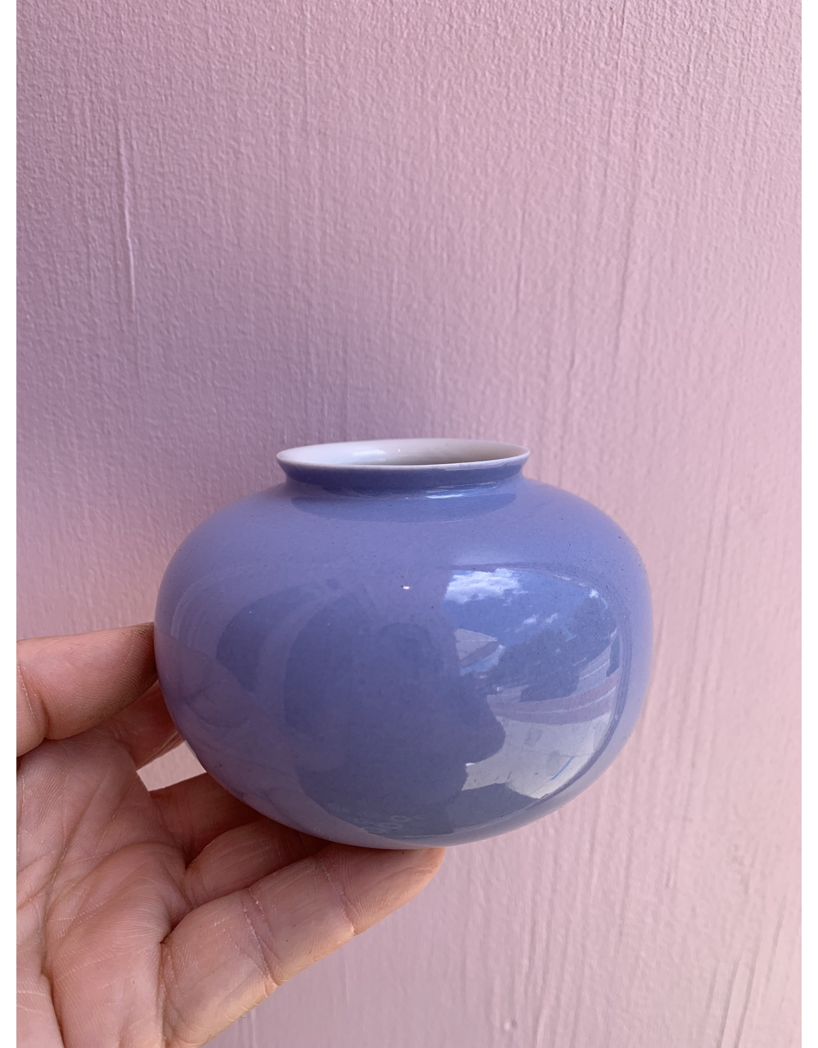 Mini Vase Apple Lavender
