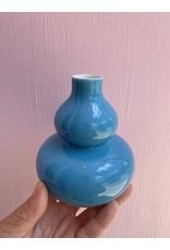 Mini Vase Double Gourd Turquoise