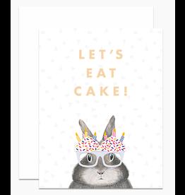 Dear Hancock Let's Eat Cake Card
