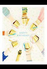 Dear Hancock Cake Circle Card