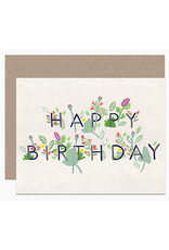 Dear Hancock Happy Birthday Floral Card
