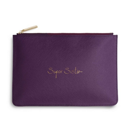 Katie Loxton Super Sister Purple Berry Perfect Pouch