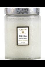 Voluspa Mokara Large Glass Jar Candle