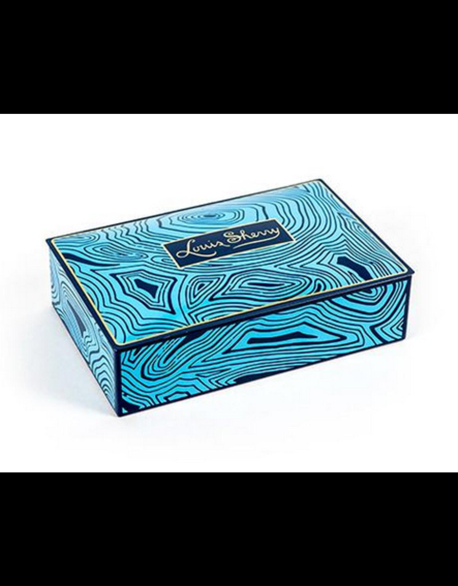 12 Piece Blue Malachite by Louis Sherry