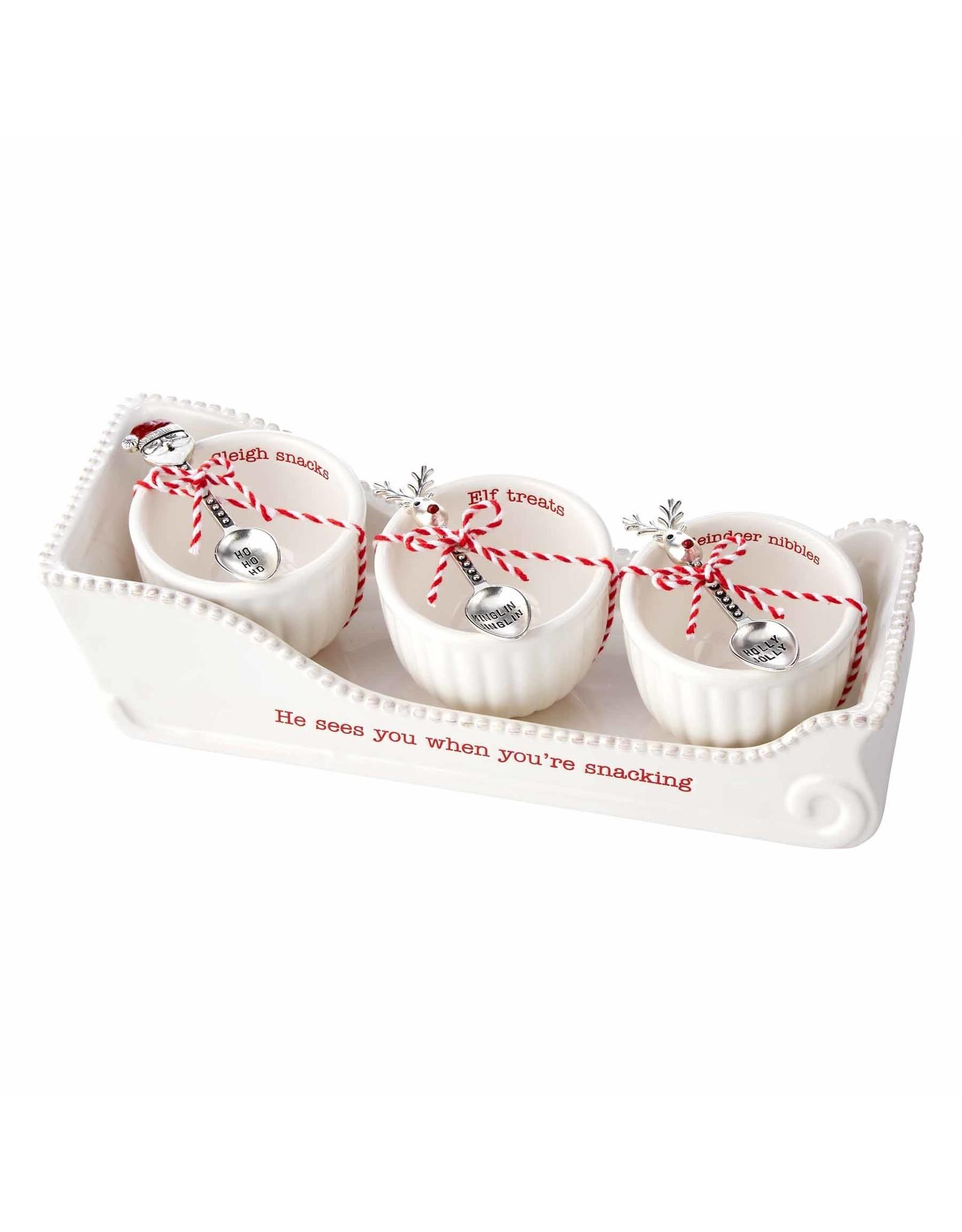 Accessories Shop at Junebug Sleigh Cracker Dish & Bowl Set