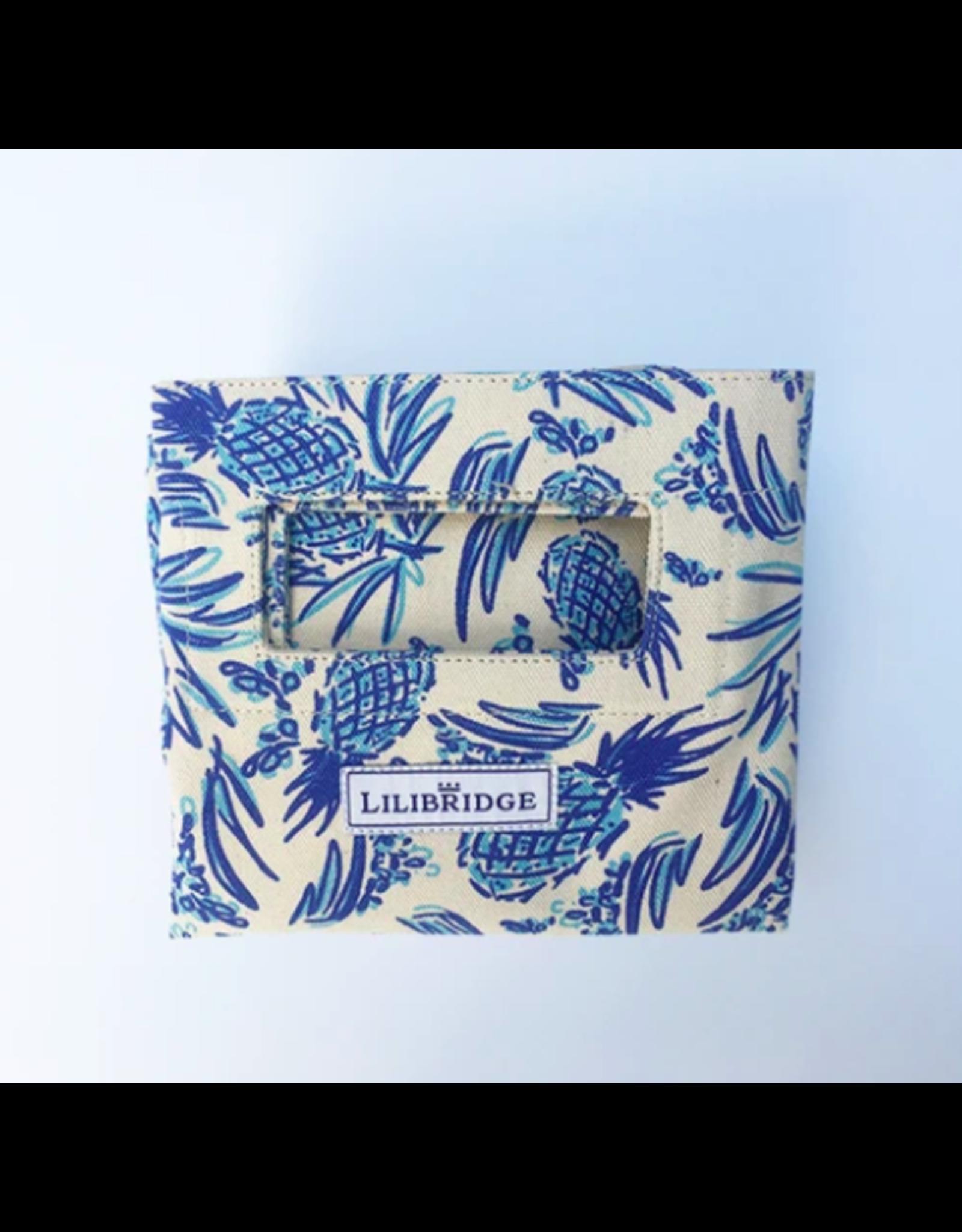 Lilibridge Blue Pineapple Bag by Lilibridge