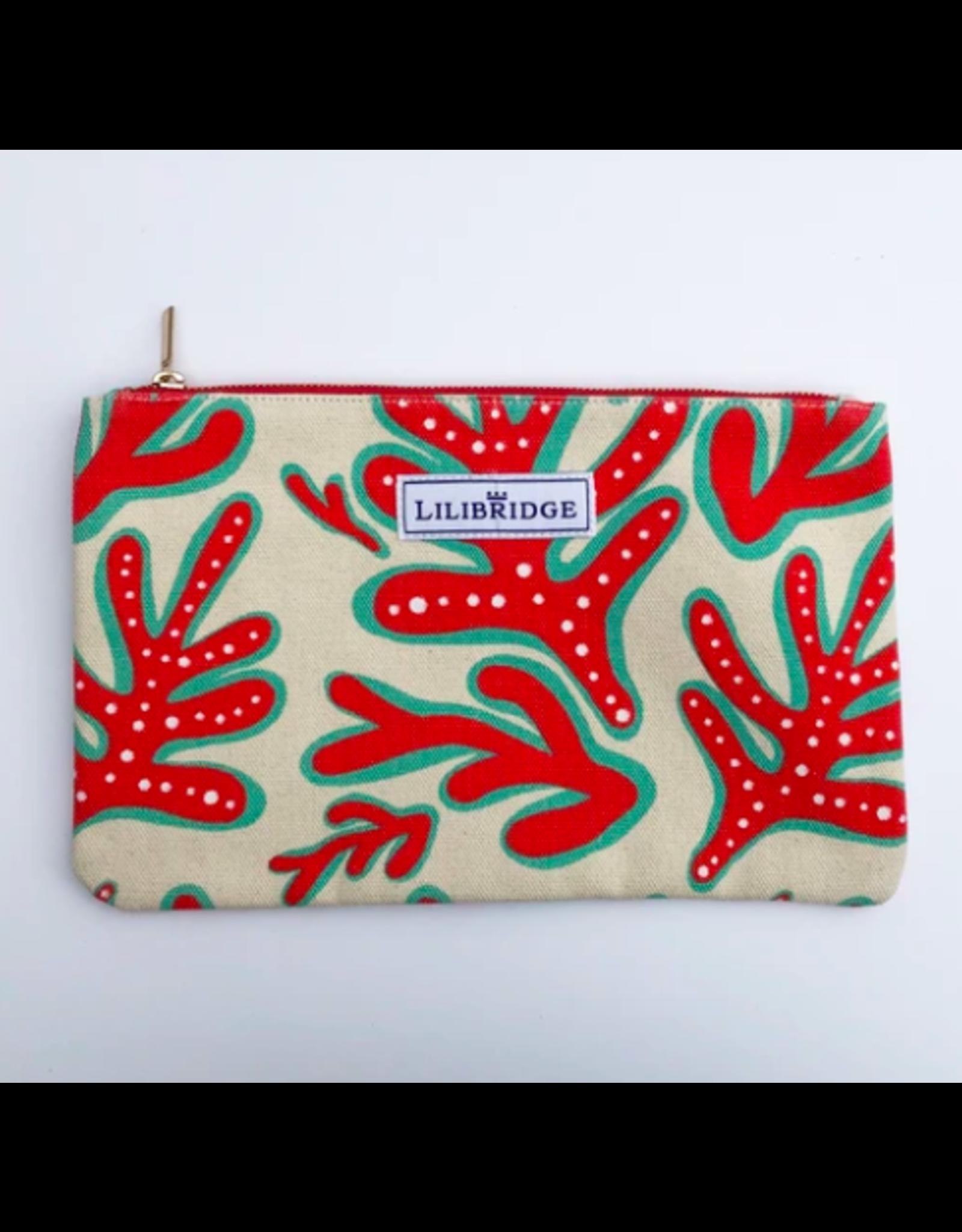 Lilibridge Crazy Coral Clutch by Lilibridge