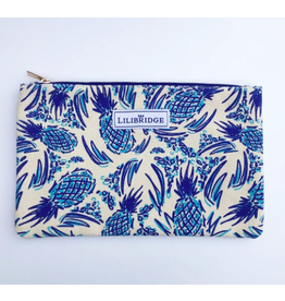 Lilibridge Blue Pineapple Clutch by Lilibridge