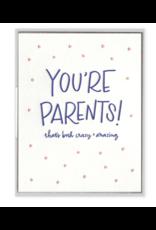 You're Parents Card