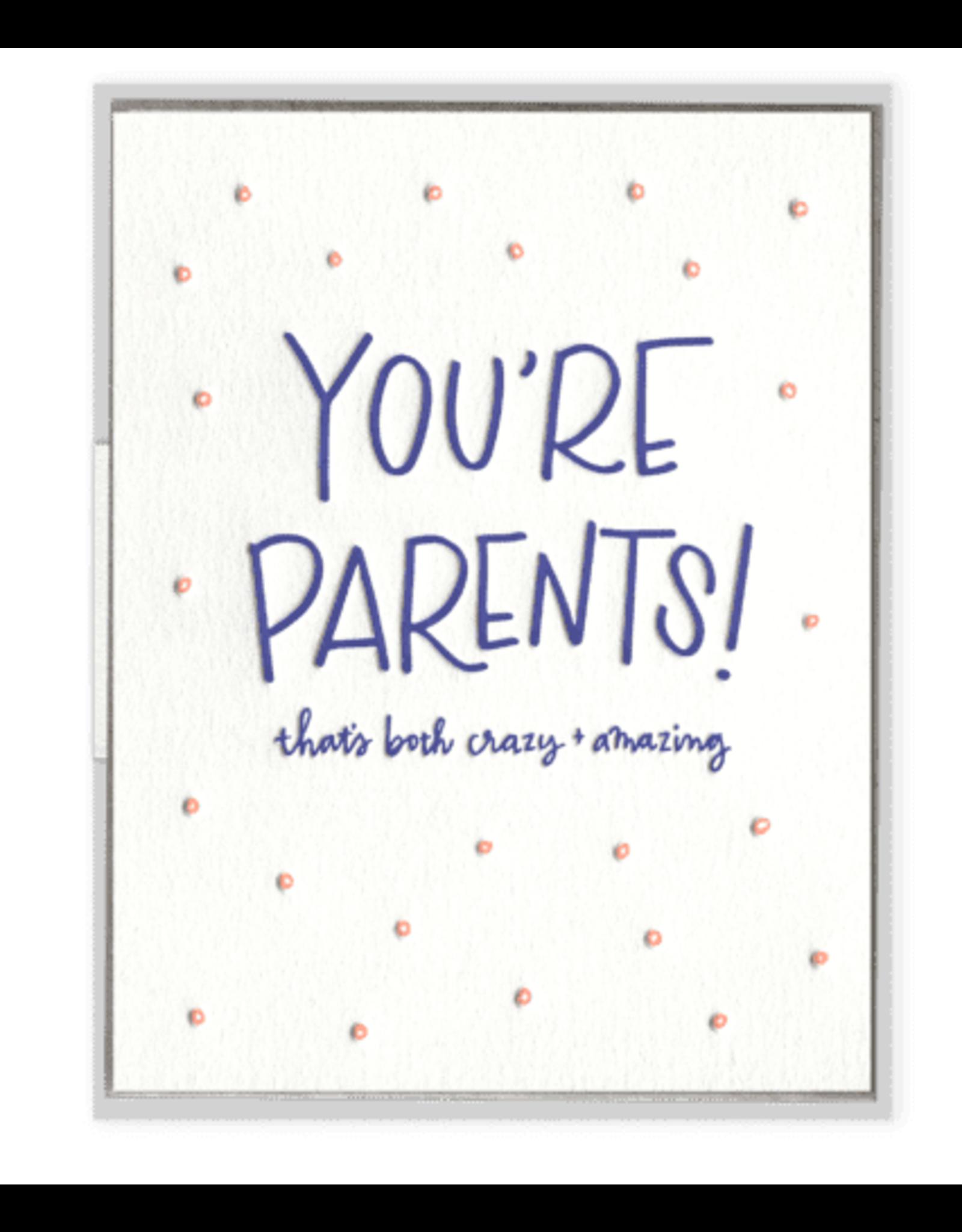 Ink Meets Paper You're Parents Card