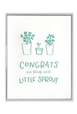 Ink Meets Paper Little Sprout Congrats Card