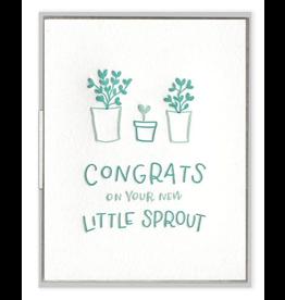 Little Sprout Congrats Card