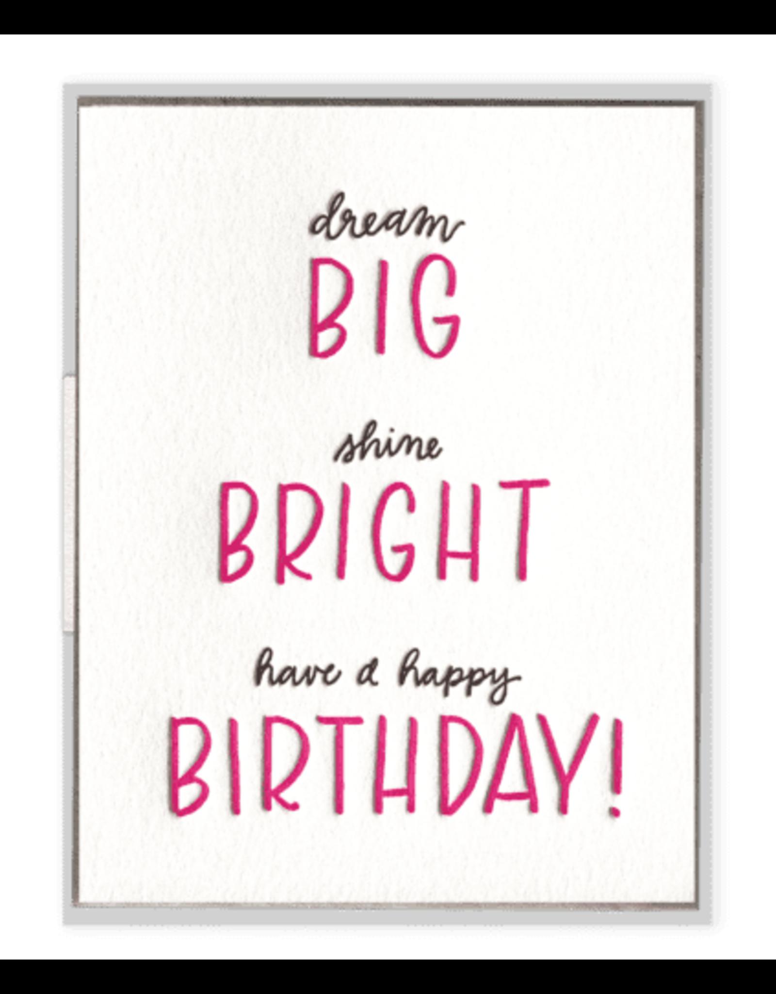 Ink Meets Paper Big Bright Birthday Card