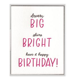 Big Bright Birthday Card
