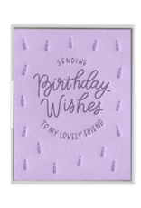 Lovely Birthday Wishes Card