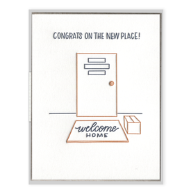 New Place Congrats Card