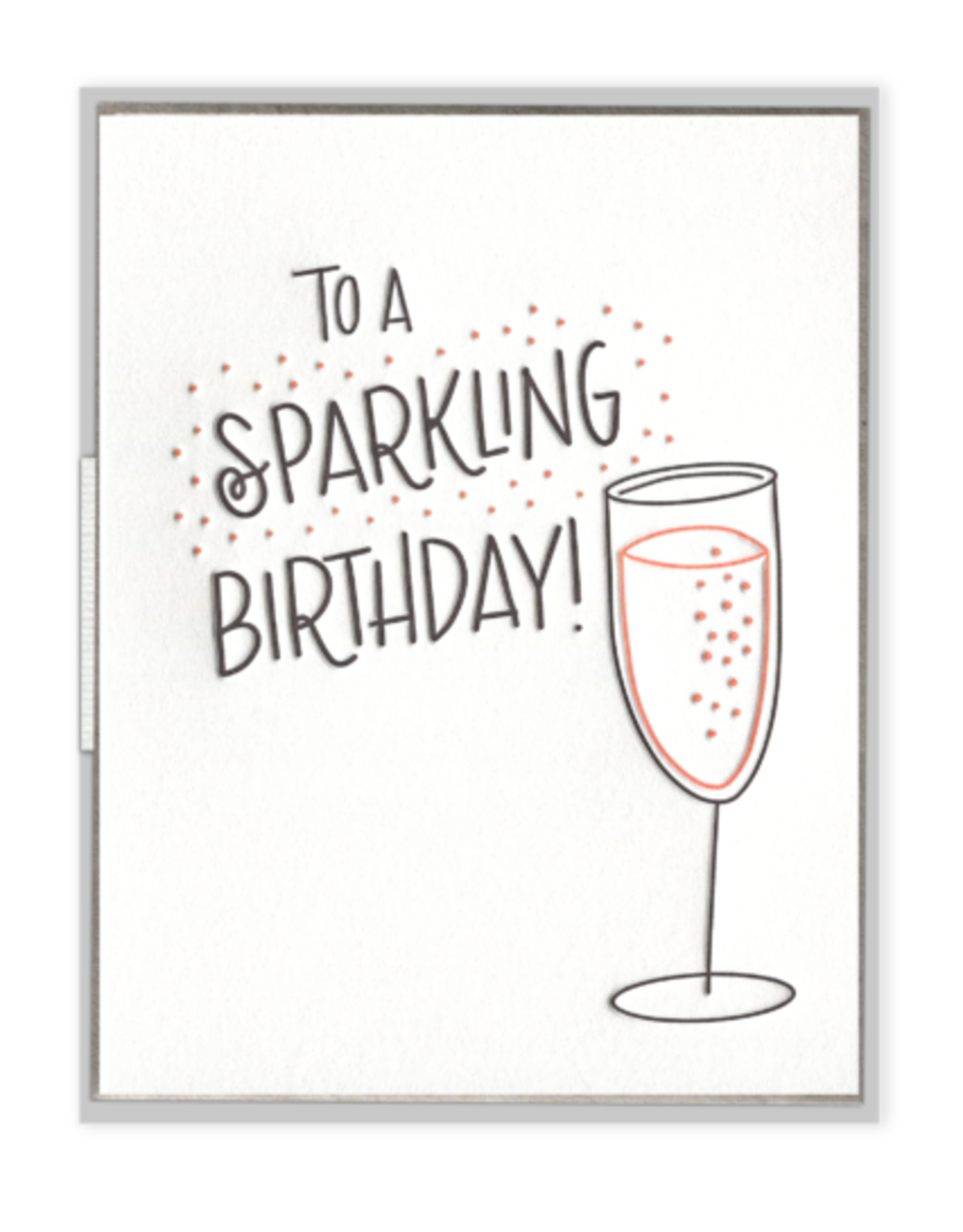 Ink Meets Paper Sparkling Birthday Card