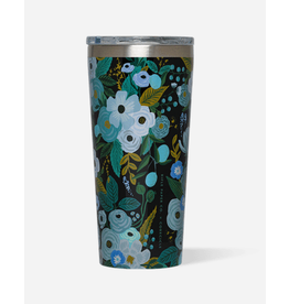 Corkcicle Tumbler 16oz Garden Party Blue