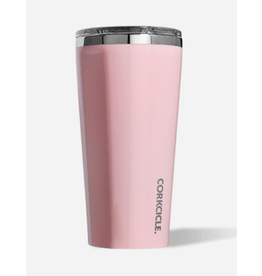 Corkcicle Tumbler 16oz Glossy Rose Quartz