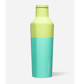 Corkcicle Canteen 16oz Color Block Limeade