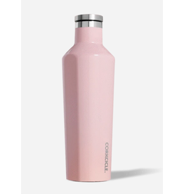 Corkcicle Canteen 16oz Glossy Rose Quartz