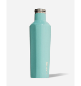 Corkcicle Canteen 16oz Glossy Turquoise