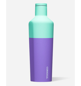 Corkcicle Canteen 25oz Color Block Mint Berry