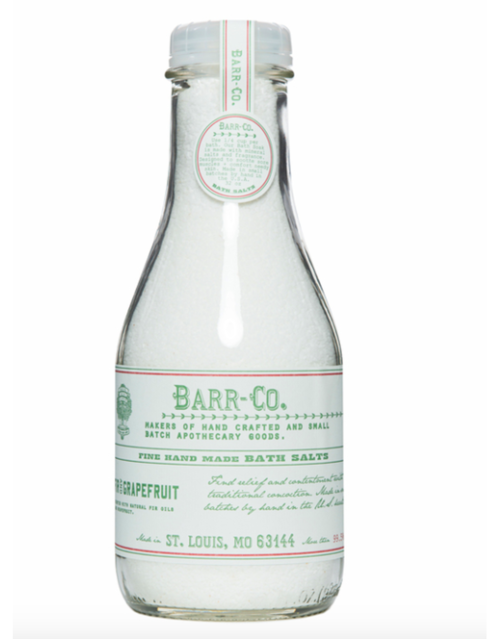 Barr-Co Fir & Grapefruit Bath Soak - 32oz