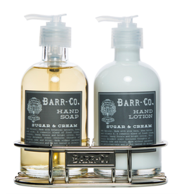 Barr-Co Sugar & Gream Lotion/Soap Caddy Duo