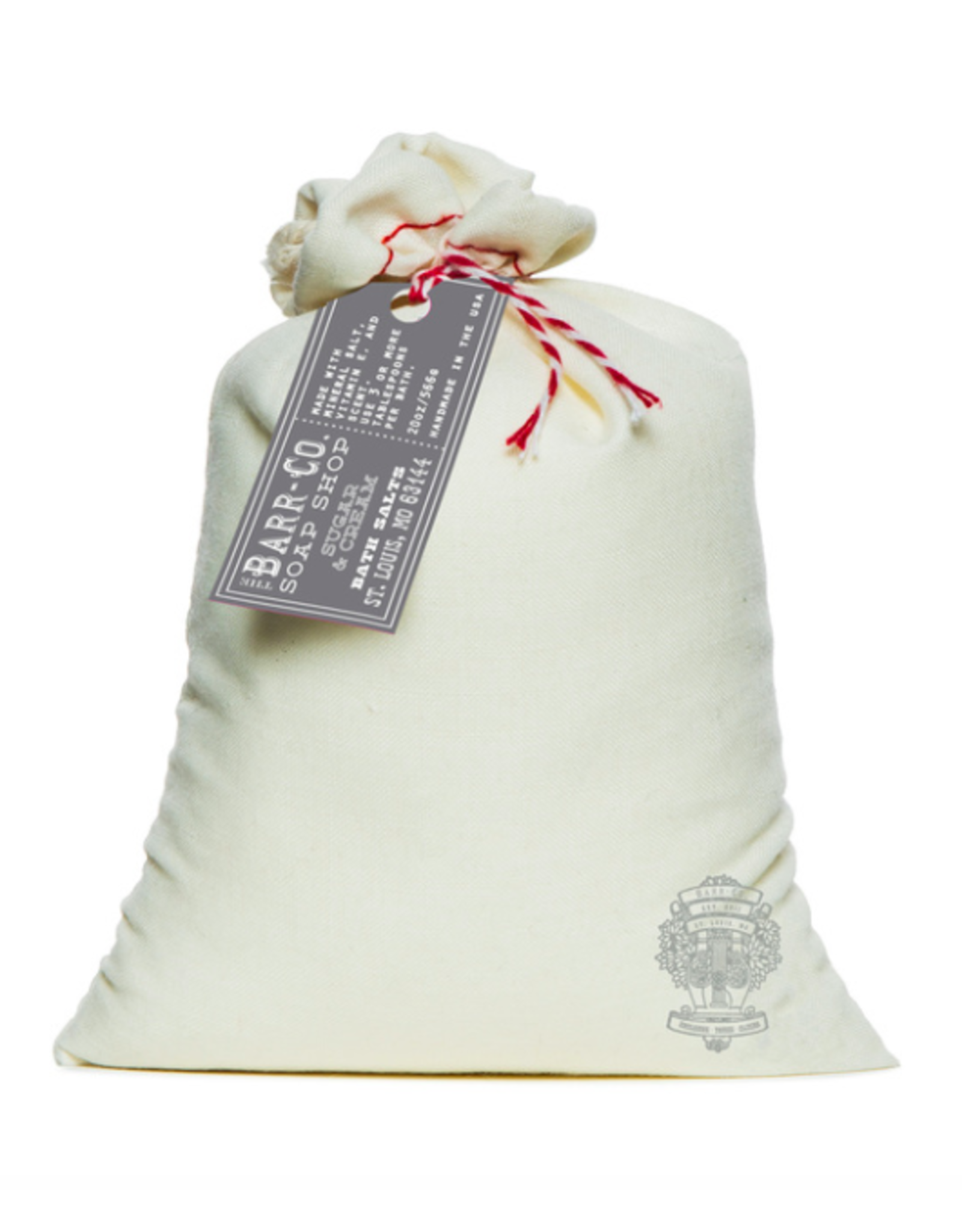 Barr-Co Sugar & Cream Bath Soak Bag
