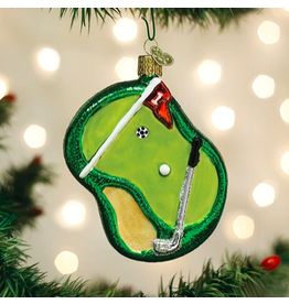 Putting Green Ornament