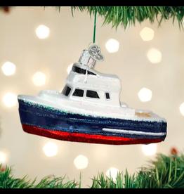 Charter Boat Ornament